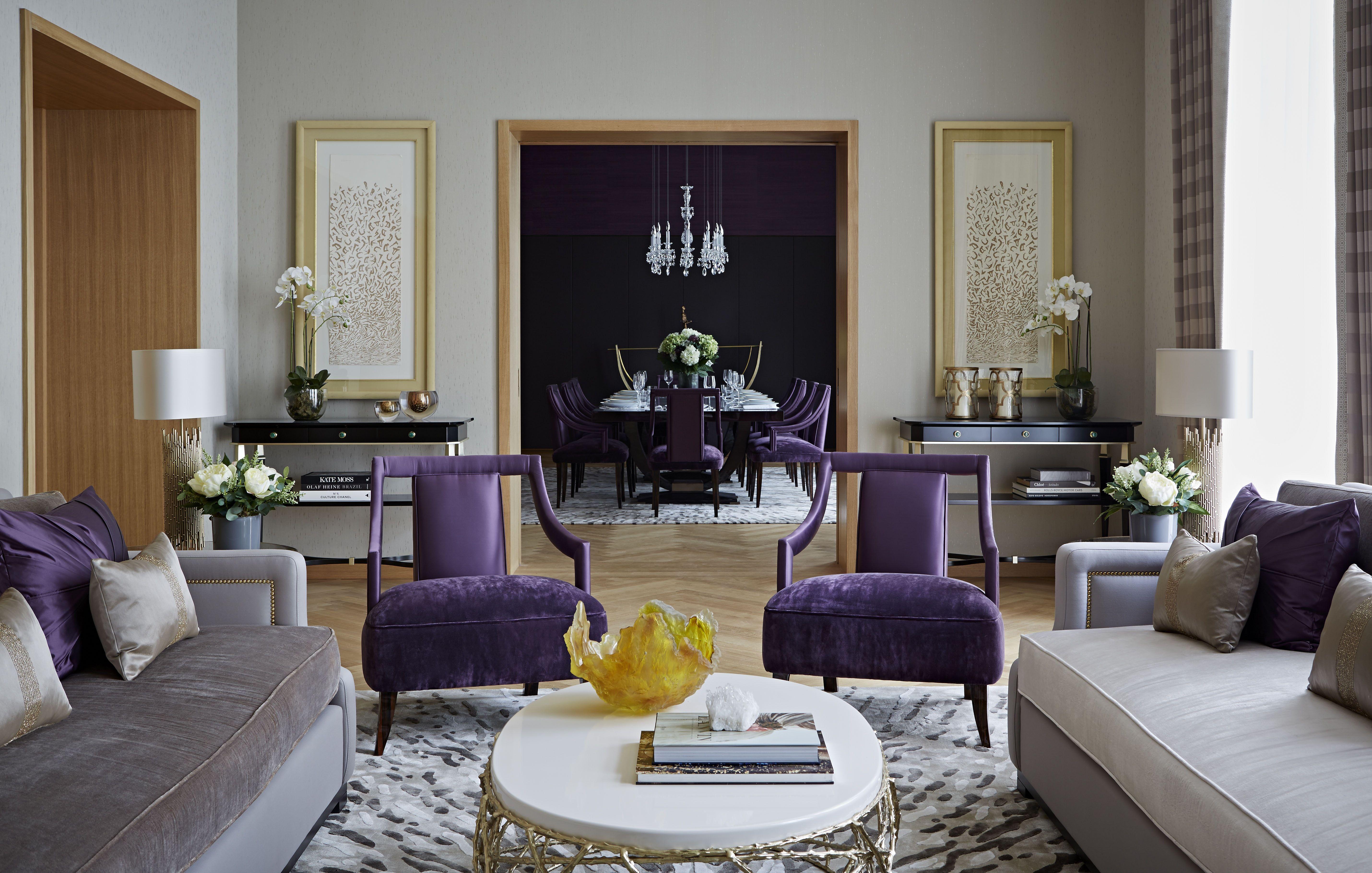 One Kensington Gardens, Kensington, London - Living Room & Dining ...