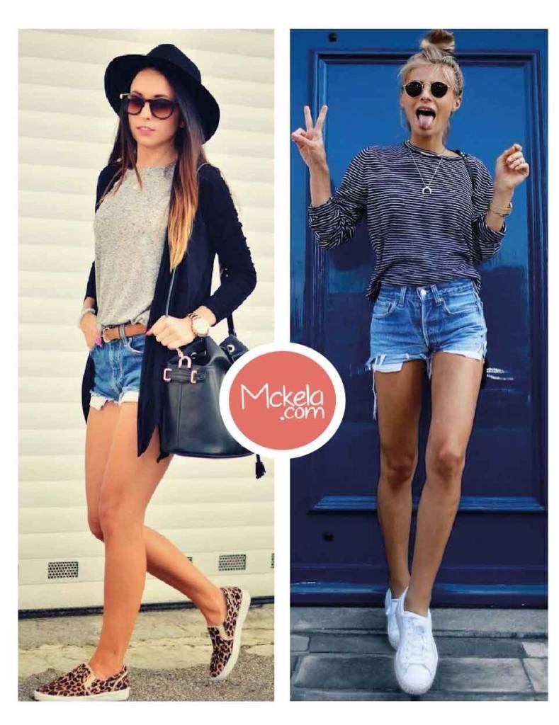 outfits con shorts para primavera u verano fashion pinterest