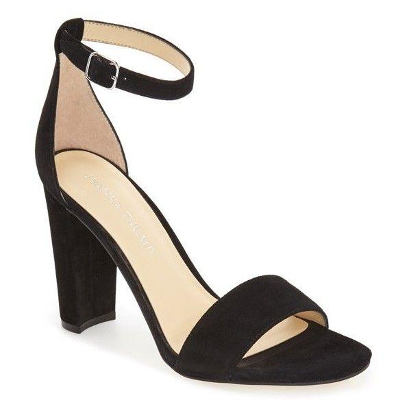Women's Ivanka Trump 'Emalyn' Block Heel Sandal ($120) via Polyvore  featuring shoes