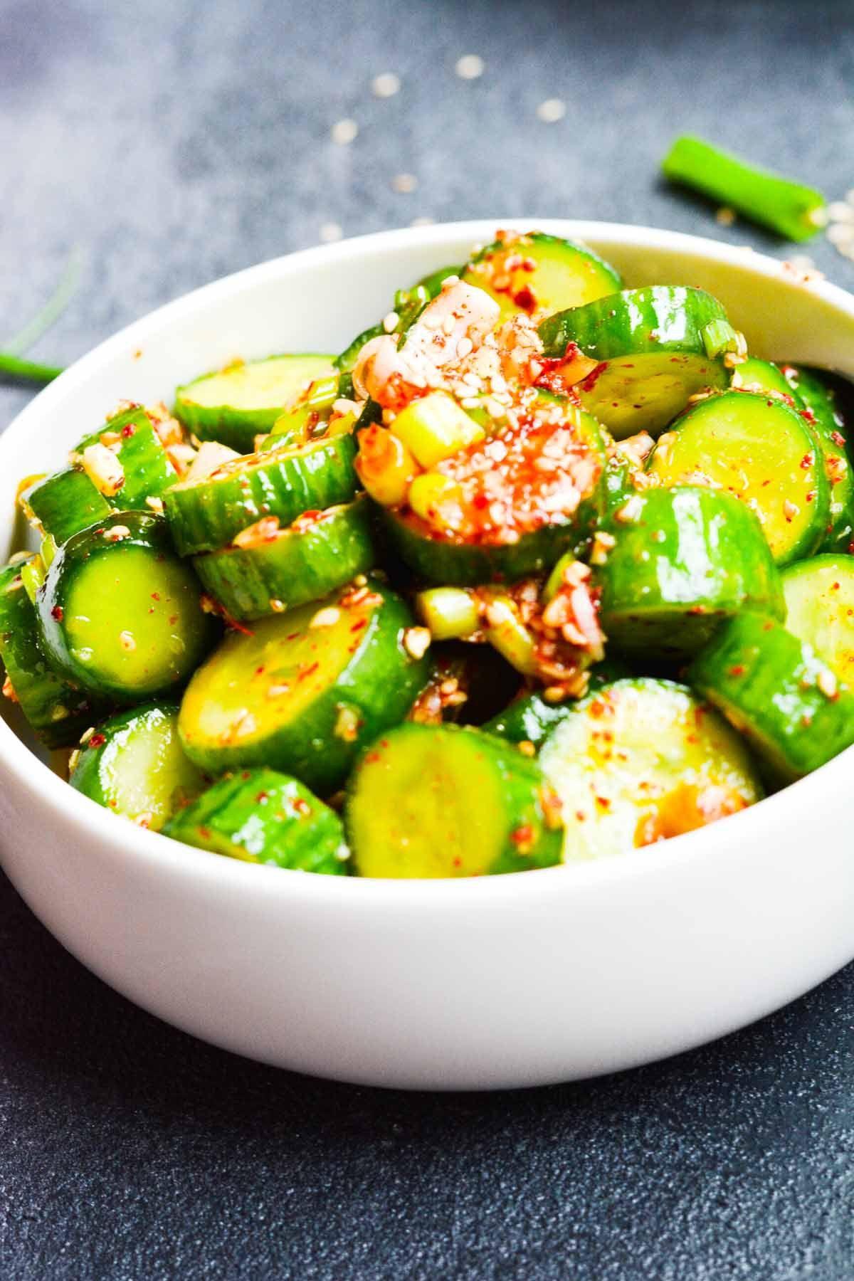 Cucumber Salad Recipe Bbq