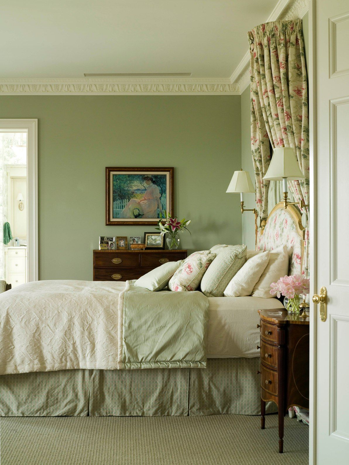 often bedrooms were treated as a sanctuary, or an escape for the