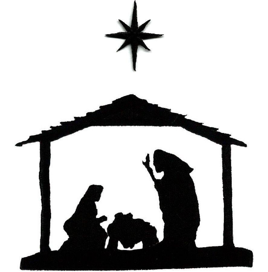 21+ Nativity scene clipart black and white info
