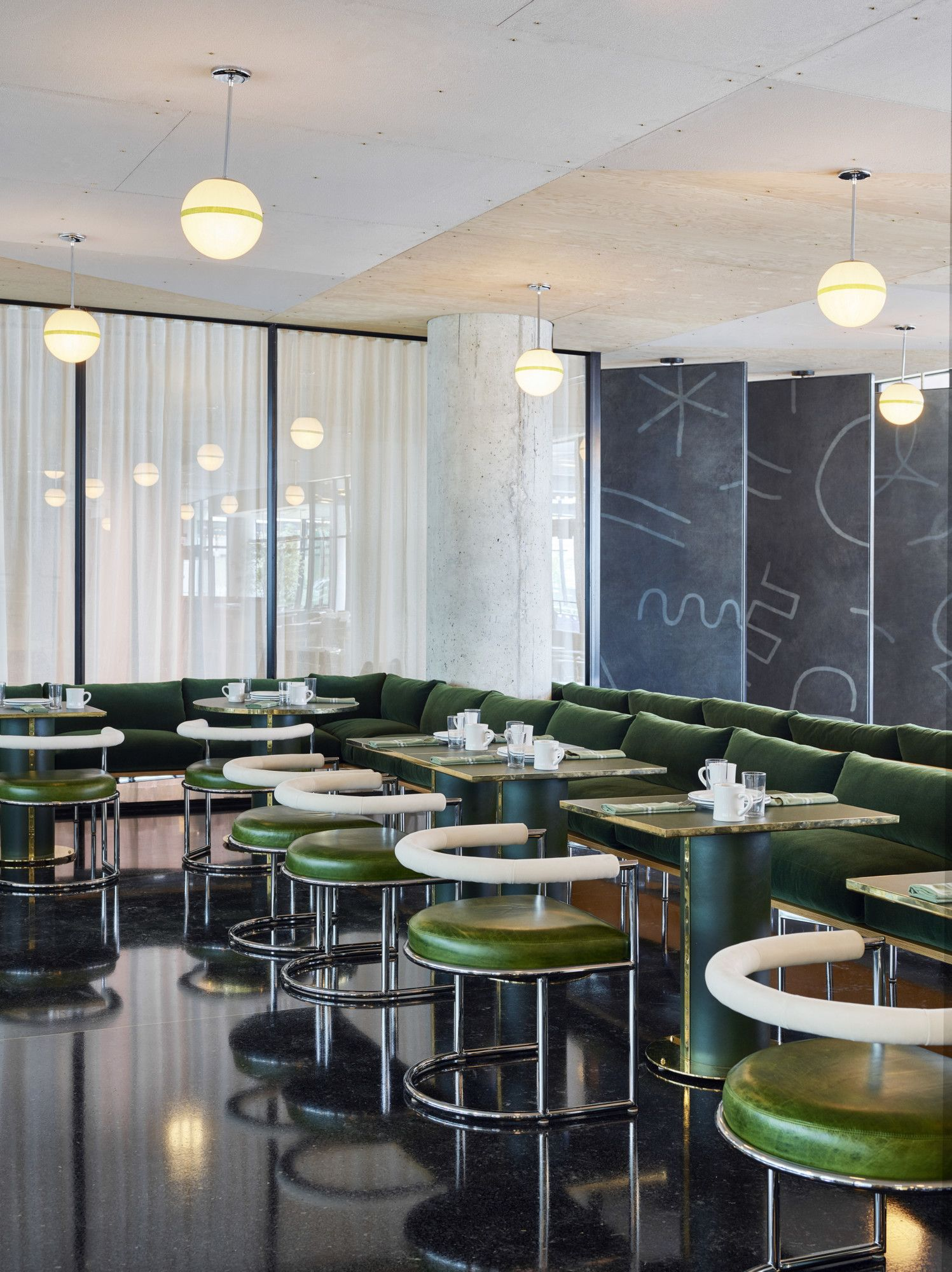 The ace hotel 39 s newest location embraces chicago 39 s design - Commercial interior design chicago ...