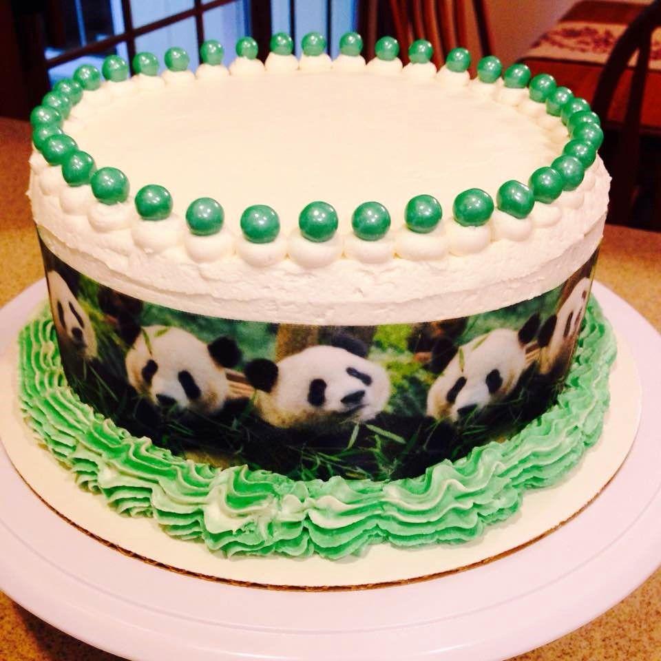 Panda cake for a very special birthday boy panda
