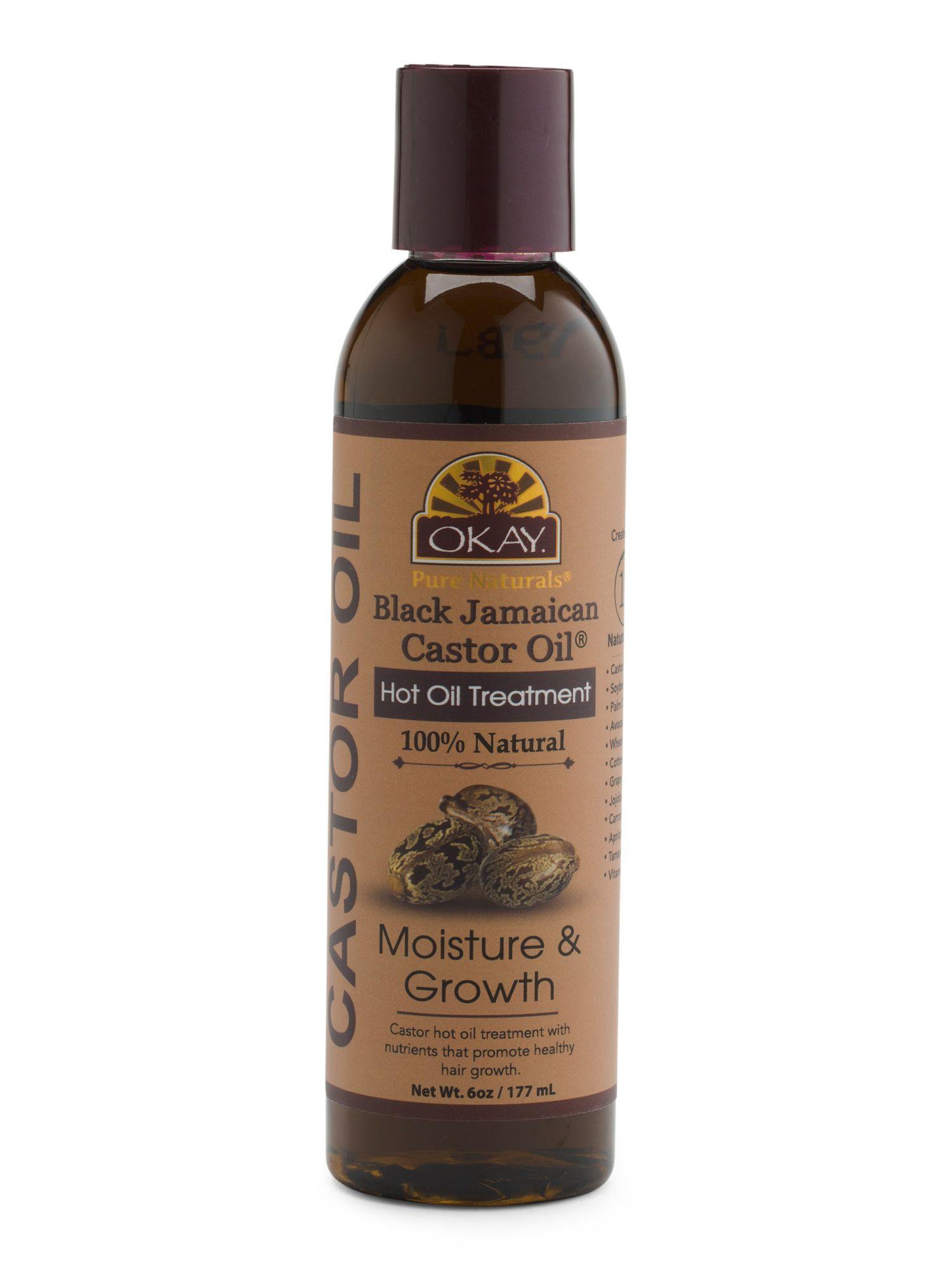 Castor oil hot hair treatment products pinterest castor oil