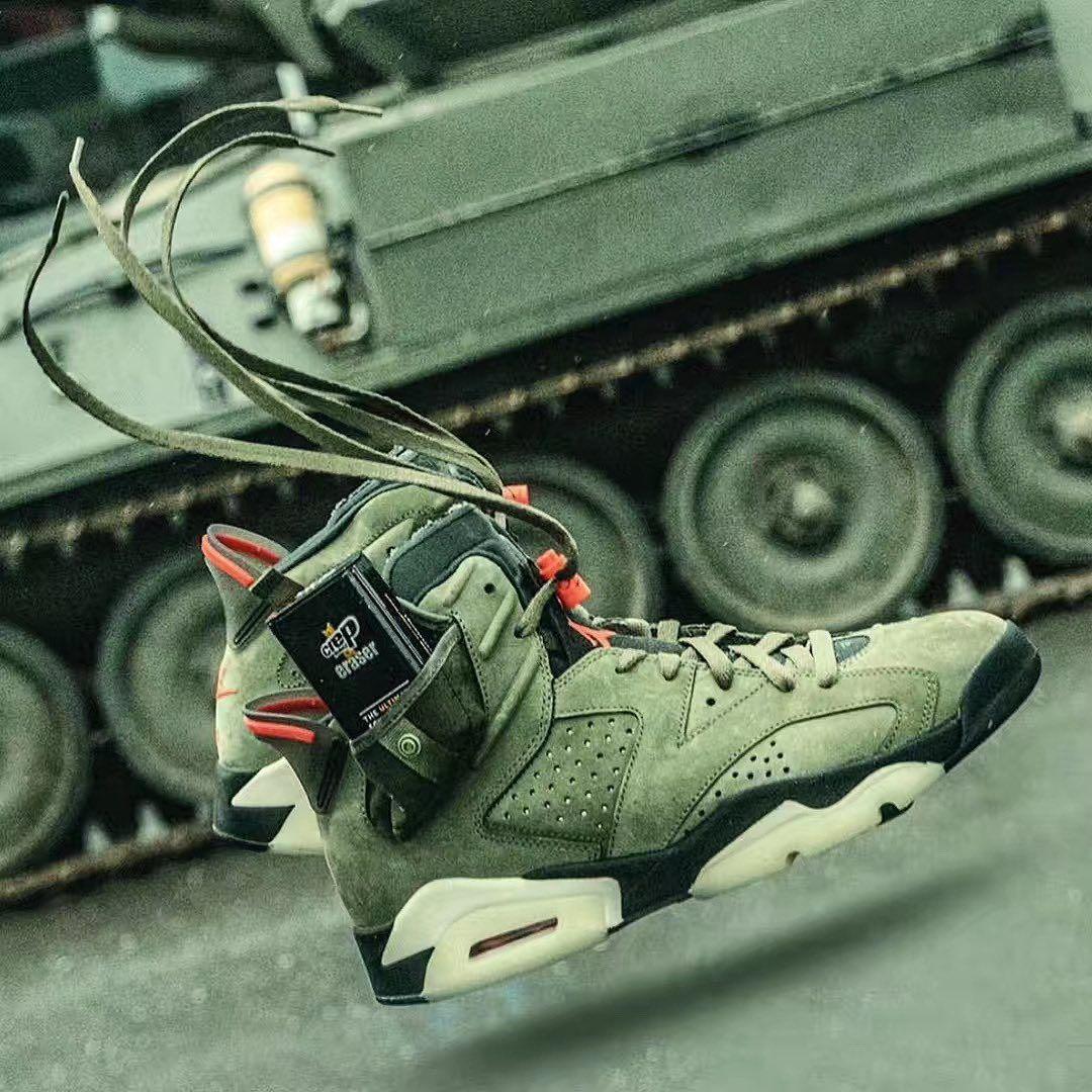 Jordan 6 Retro Travis Scott Fashion Shoes Sneakers Shoes Sneakers Jordans Nike Shoes Jordans