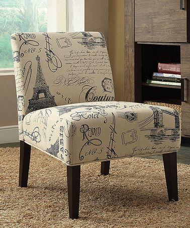 Groovy Love This Reece Accent Chair On Zulily Zulilyfinds Home Creativecarmelina Interior Chair Design Creativecarmelinacom