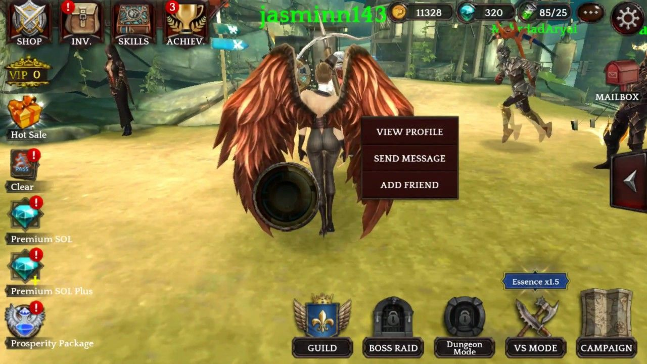 Darkness Reborn action RPG Android and IOS 3D game