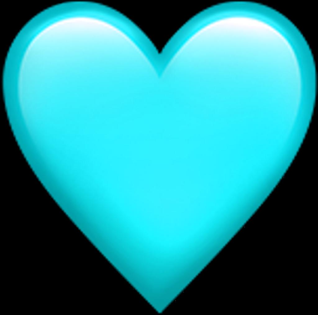 Teal Heart Emoji Transparentbackground Teal Heart Emoji Heart Emoji Transparent Background Clipart Full Size Blue Heart Emoji Heart Emoji Pink Heart Emoji