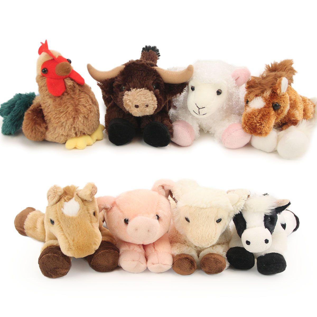 Stuffed Farm Animals Farm Animals Baby Farm Animals Animal Babies Toys