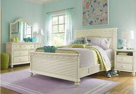 Teens Bedroom Sets Entrancing Shop For A Emma's Escape 4 Pc Full Panel Bedroom At Rooms To Go Design Decoration