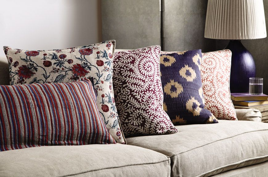 How To Arrange Cushions on a Sofa or Bed OKA Blog