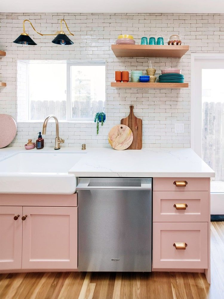 5 Kitchen Cabinet Makeovers That Will Inspire You to Pick Up a Paintbrush — Domino