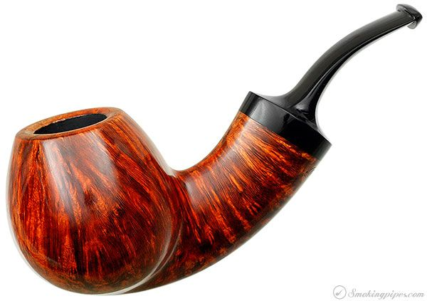 New Tobacco Pipes: Grechukhin Smooth Bent Brandy at Smokingpipes.com