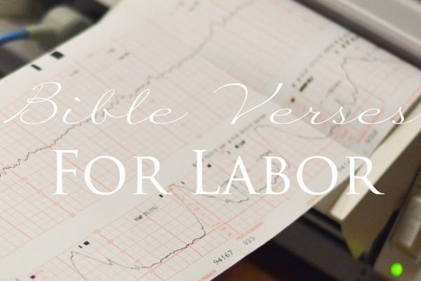 Verses For Labor Printables Through Clouded Glass Blog Birth