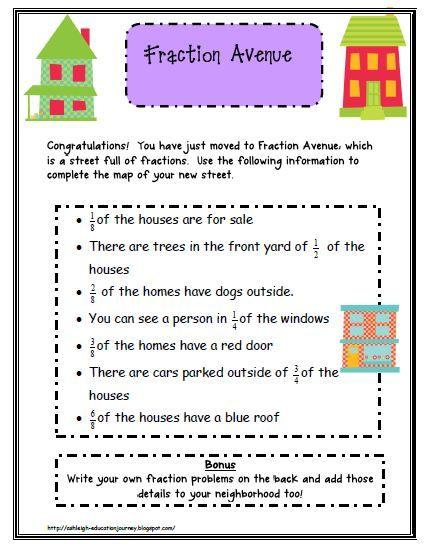 fractions Math Pinterest Schreibschrift und Mathe