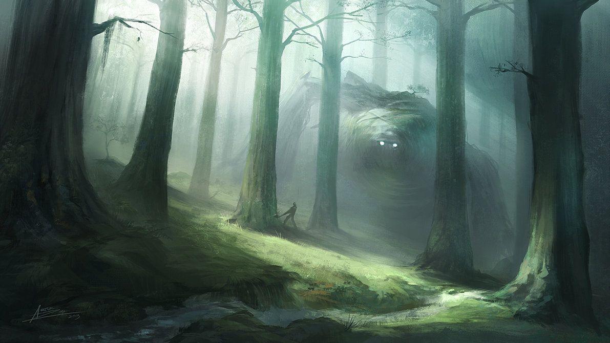 Forest Guardian Concept Art by ARTek92