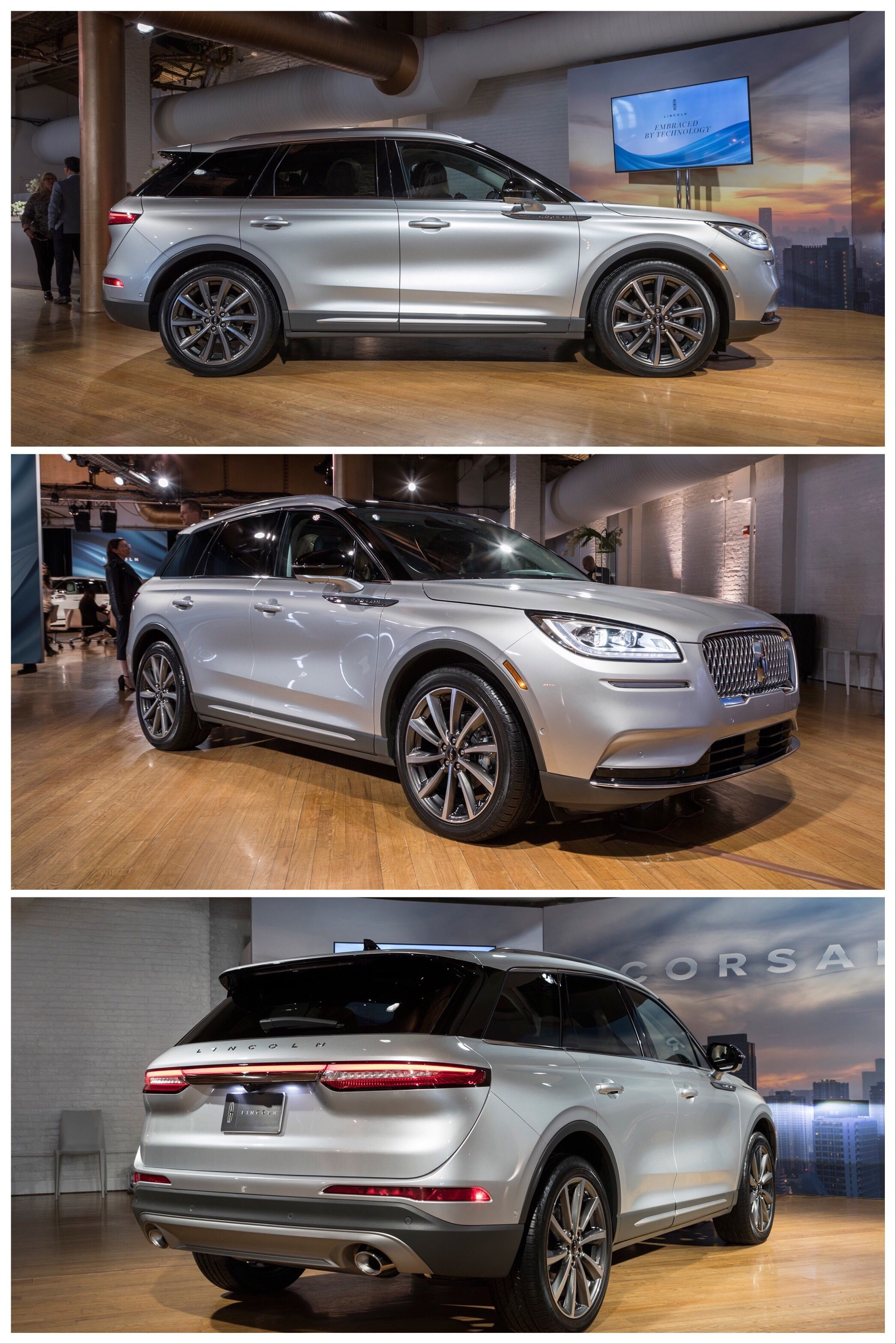 The 2020 Lincoln Corsair Arrives Looking Classy And Confident