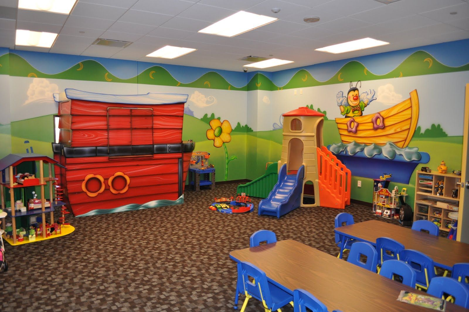 Children S And Kids Room Ideas Designs Inspiration: Nursery & Classroom Layout, Design & Decorating