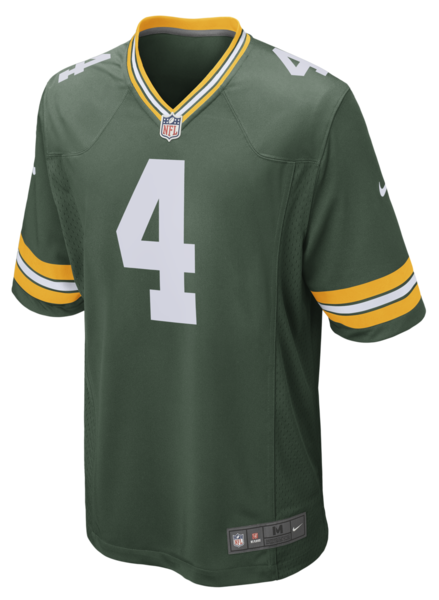 Green Bay Packers Brett Favre Home Jersey By Nike Nfl Green Bay Green Bay Packers Aaron Rodgers Green Bay Packers Game