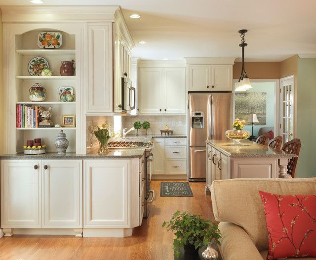 Traditional Outside Corner Kitchen Cabinet Ideas