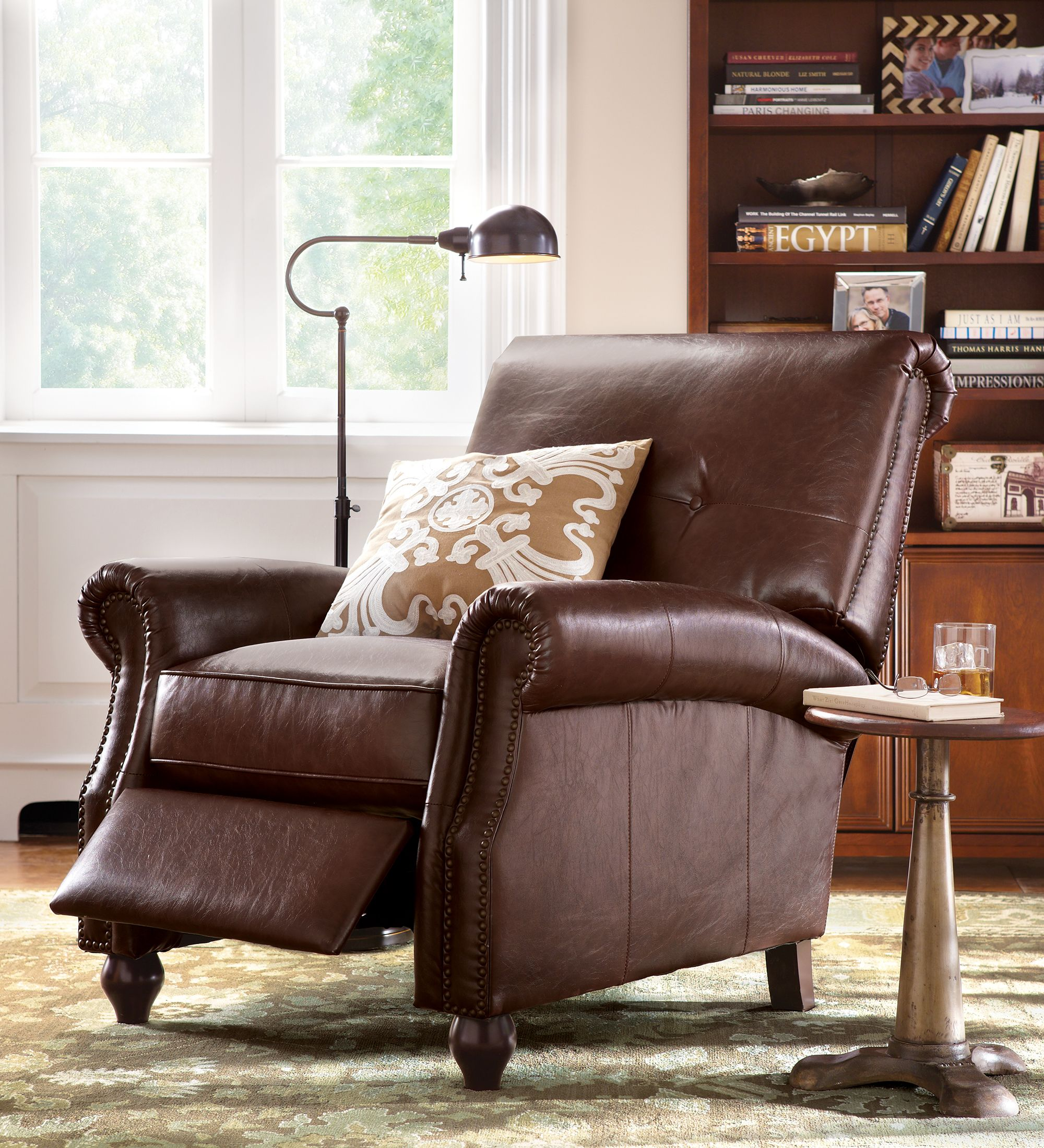 Kick And Relax In Comfy Stylish Recliner
