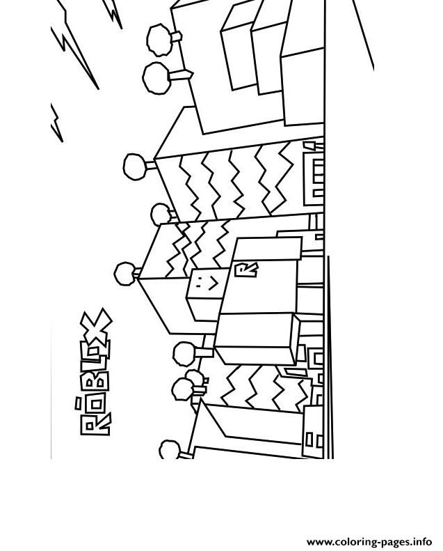 Print roblox build coloring pages