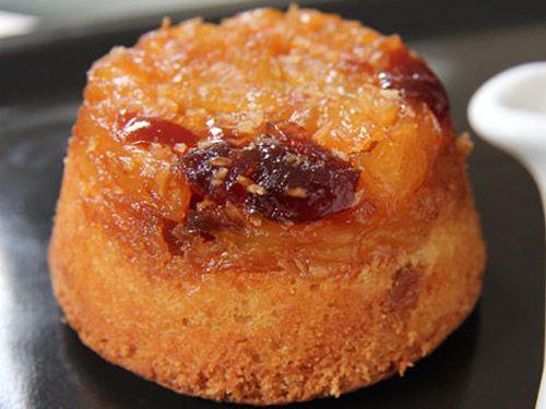 Cupcake de piña