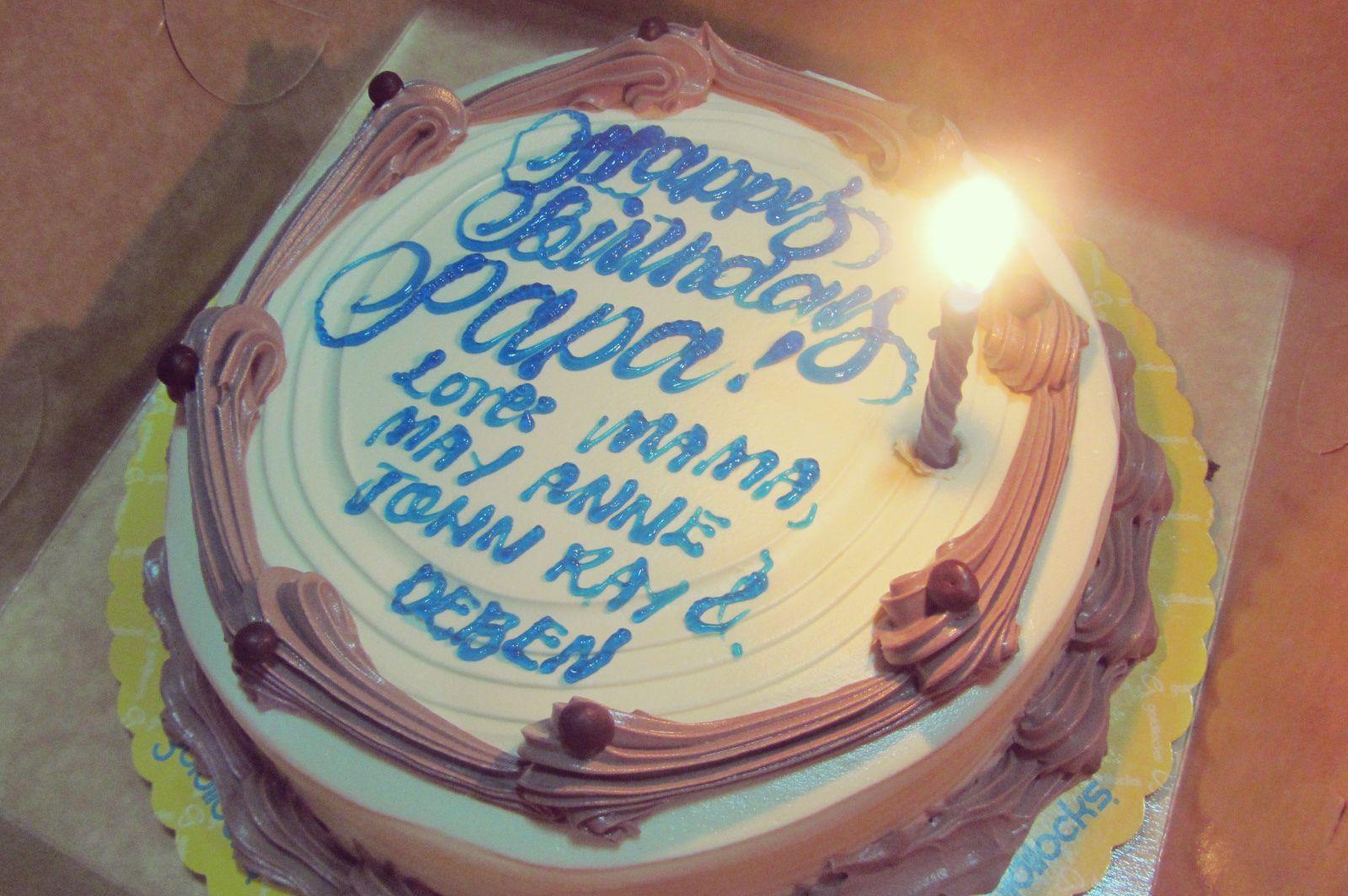 Images Of Papa Birthday Cake : Happy Birthday Papa Cake 26745wall.JPG Happy Birthday ...