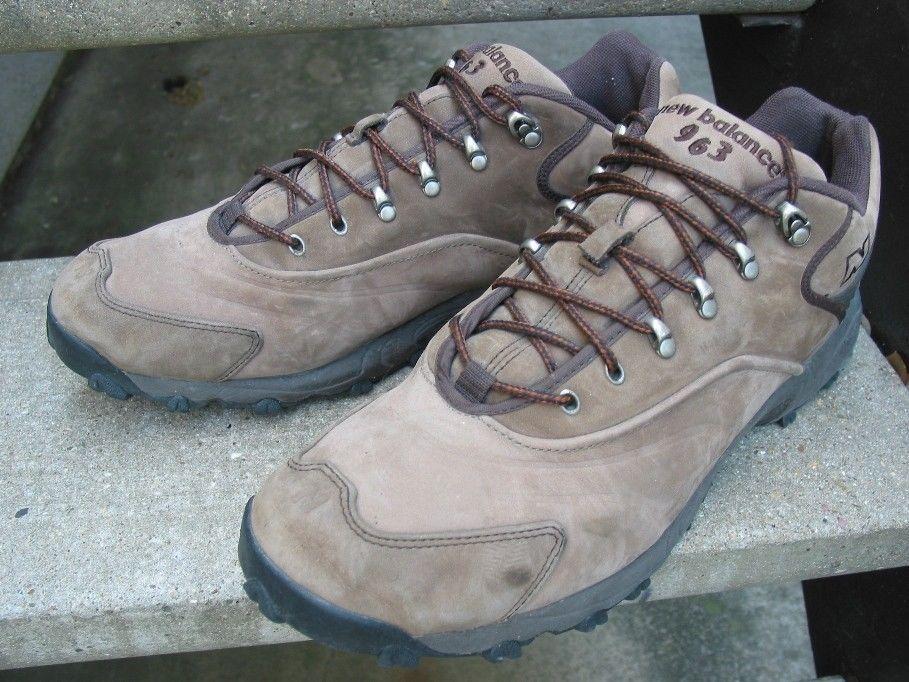 8338c8af056a9 New Balance 963 Tan Beige Used Hiking Boots Shoes 15 D #NewBalance ...