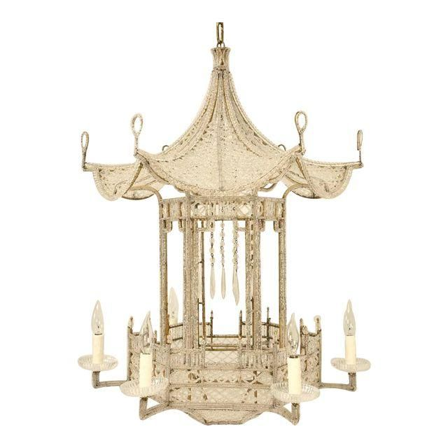 Image of pagoda chandelier from france circa 1940s in the style of image of pagoda chandelier from france circa 1940s in the style of bagues mozeypictures Image collections