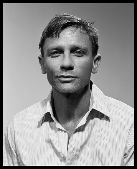 "Titel: ""Daniel Craig, London 2005"" (Foto: ® Liz Collins)"