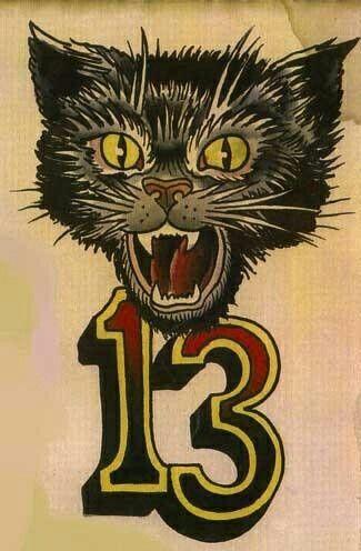 13 black cat   Tattoo Art/ Drawings/ Flash   Black cat ...