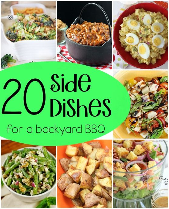20 side dishes for a bbq roundup backyards dishes and for Side dish recipes for grilling out