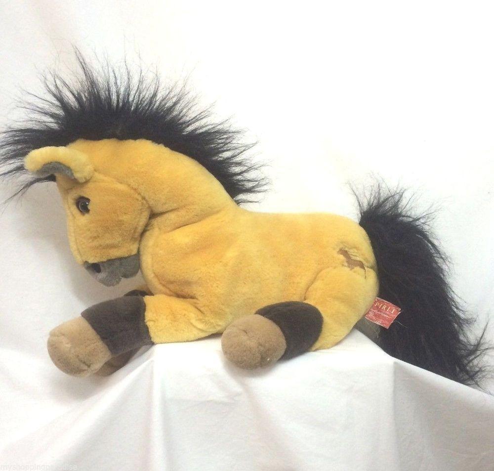 "Spirit Stallion Of The Cimarron Horse Plush 14"" 2002 Dreamworks"
