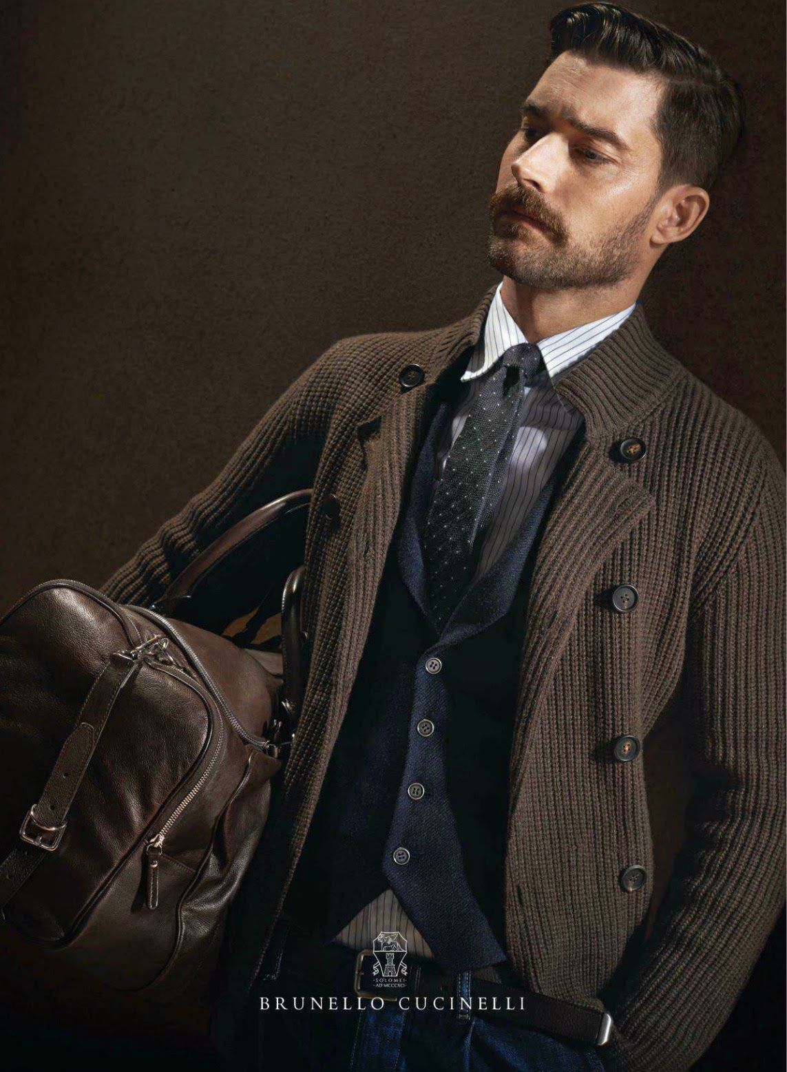 The Essentialist - Fashion Advertising Updated Daily: Brunello Cucinelli Ad Campaign Fall/Winter 2014/2015