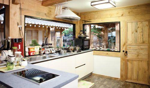 sangojae s kitchen from personal taste want it 전통 주택 작은 집 on kitchen interior korean id=99861