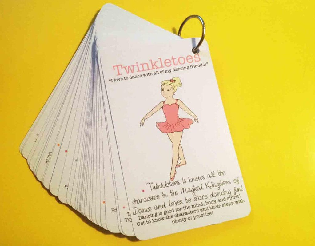 Character Flashcards Flashcards Dance Ballet