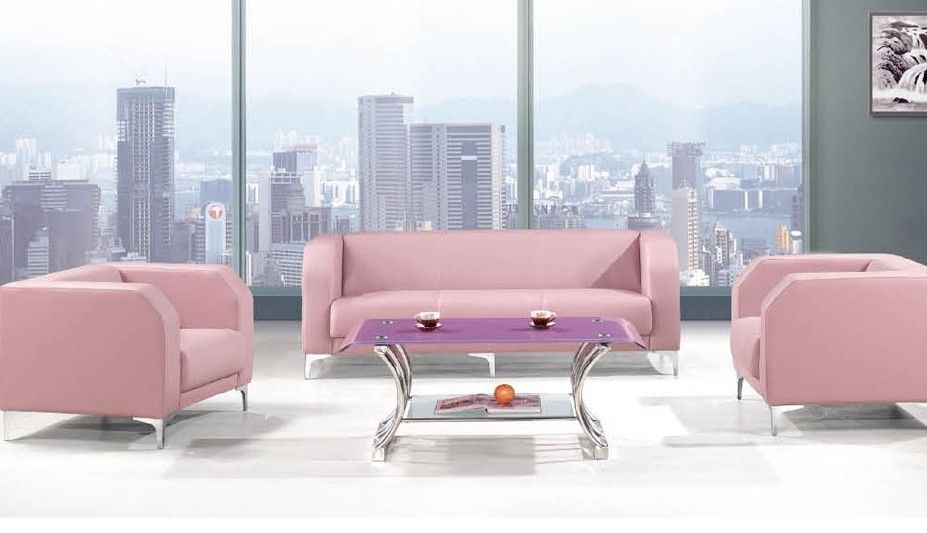 Awesome Pink Leather Sofa Unique 93 On Modern Ideas With