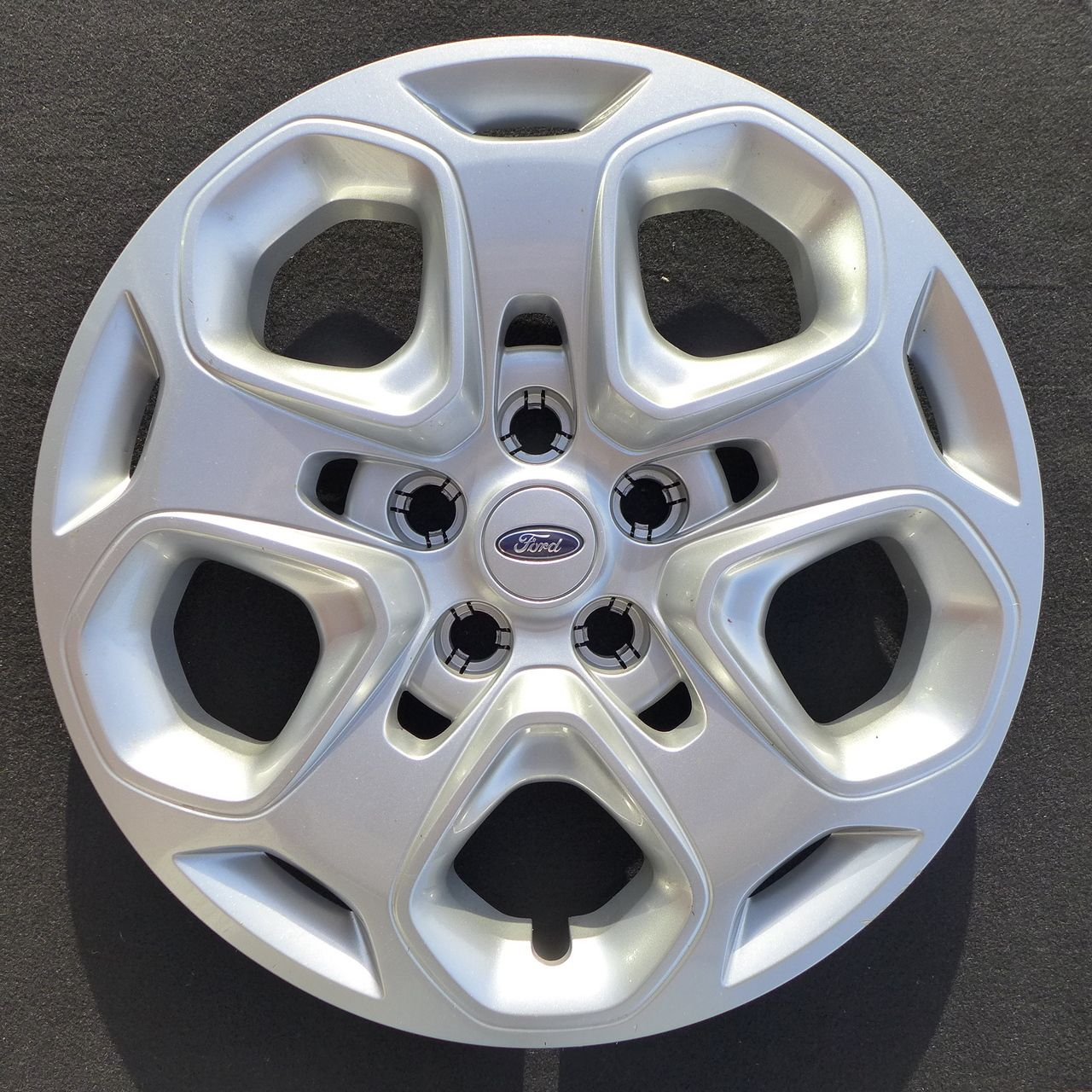 fusion ford wheel hubcap cap wheels inch oem chrome factory silver scratched covers hubcaps db