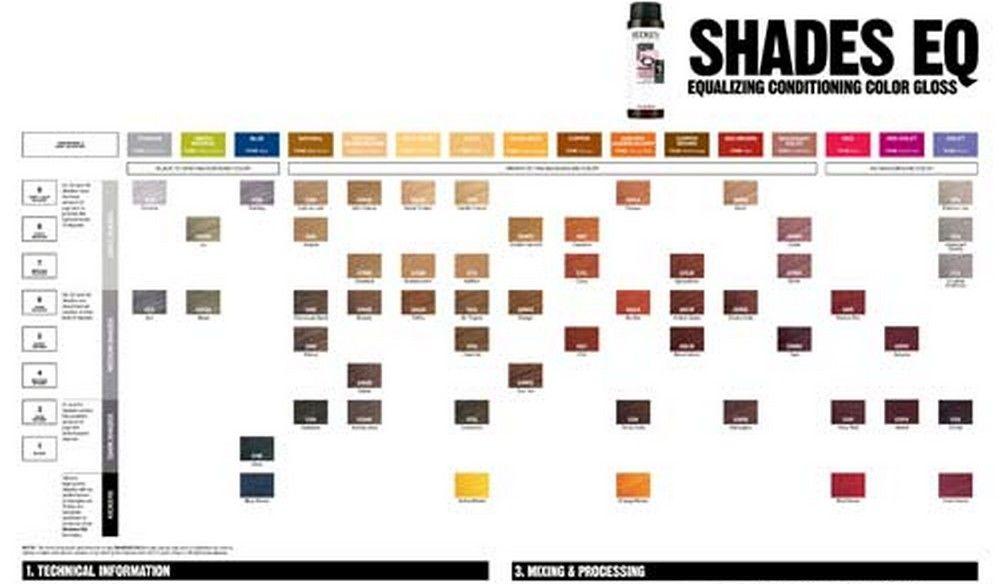 shades eq entretien de votre coloration avec redken au salon alexandre coiffure chambry savoie - Coloration Redken Nuancier