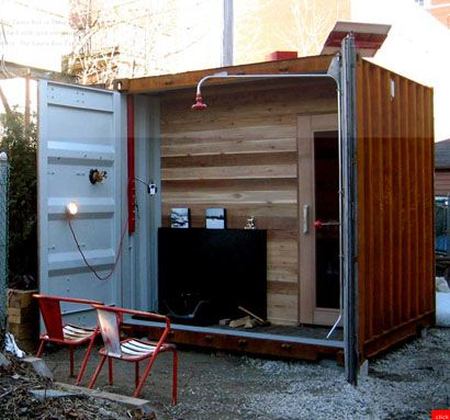 Baker Electric Solar >> Castor Design: Makes **it Look Good | Cabin ideas | Shipping container home designs, Container ...