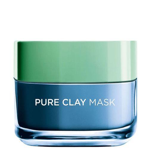 قناع الطين النقي بليمش ريسكيو ماسك من لوريال باريس 50 مل متجر راق Pure Clay Mask Vaseline Bottle Clay Masks