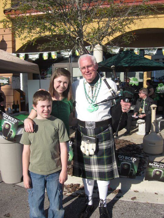 St. Patrick's Day wouldn't be the same without the bagpipes.