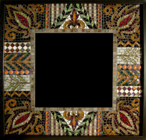 Mosaic Artists Gallery Of Artistic Mirrors Pool Borders Tile And Decor