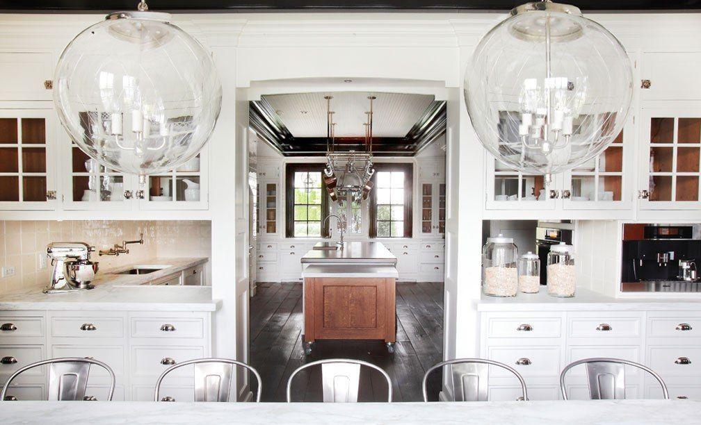 Oversized Glass Pendant Lights Kitchen Island Cococozy Decor - Kitchen island glass pendants