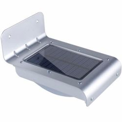 Lampara Led De Energia Solar Con Sensor De Luz Y Movimiento Solar Powered Lights Lamp Light Solar