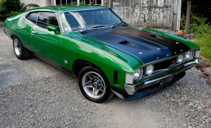 1972 Ford Xa Gt Falcon Coupe Australian Muscle Cars Classic