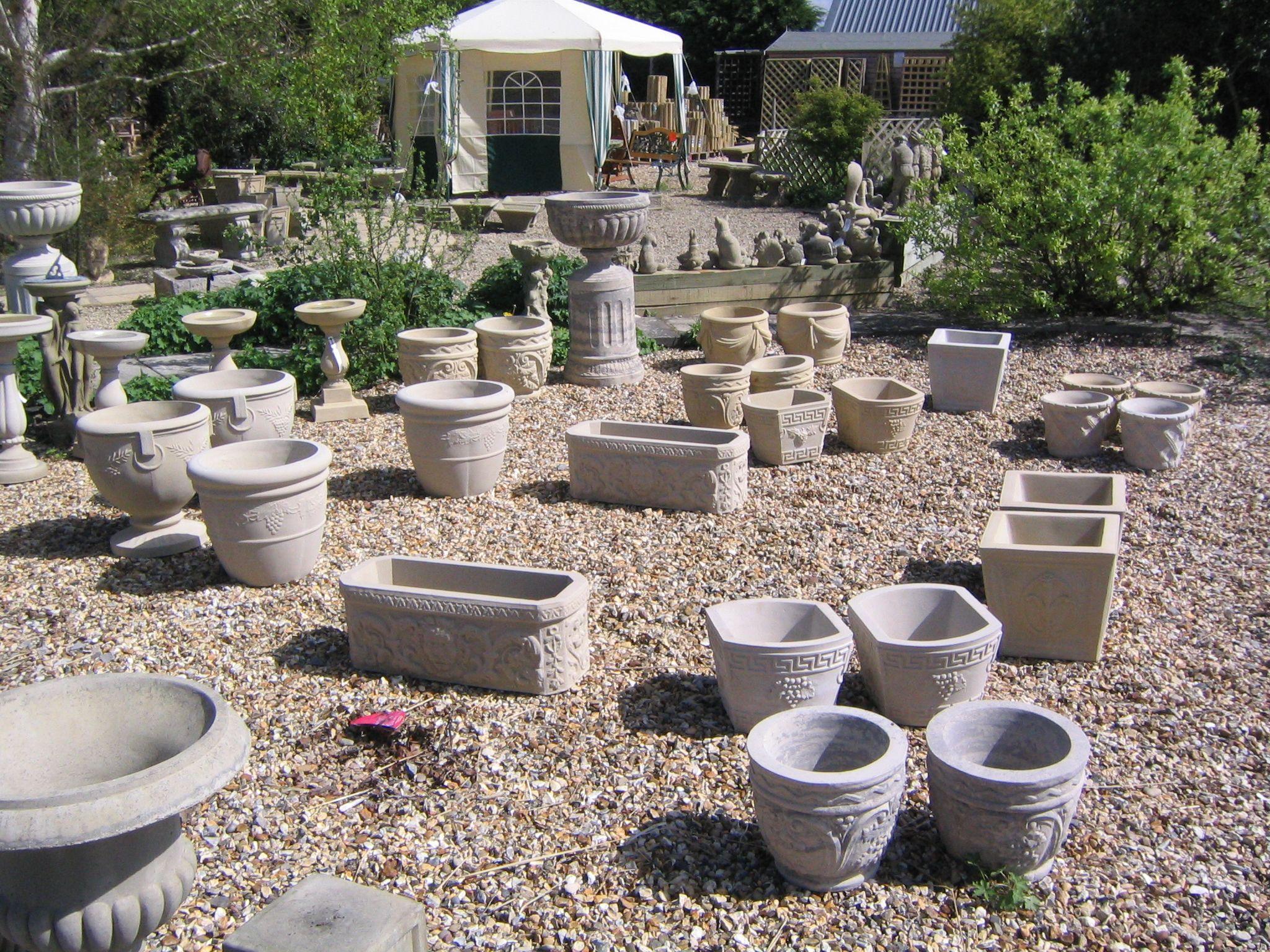Awesome Light Cement Furniture Google Search Garden Pots Pinterest. Bali Stone  Garden Planters ...