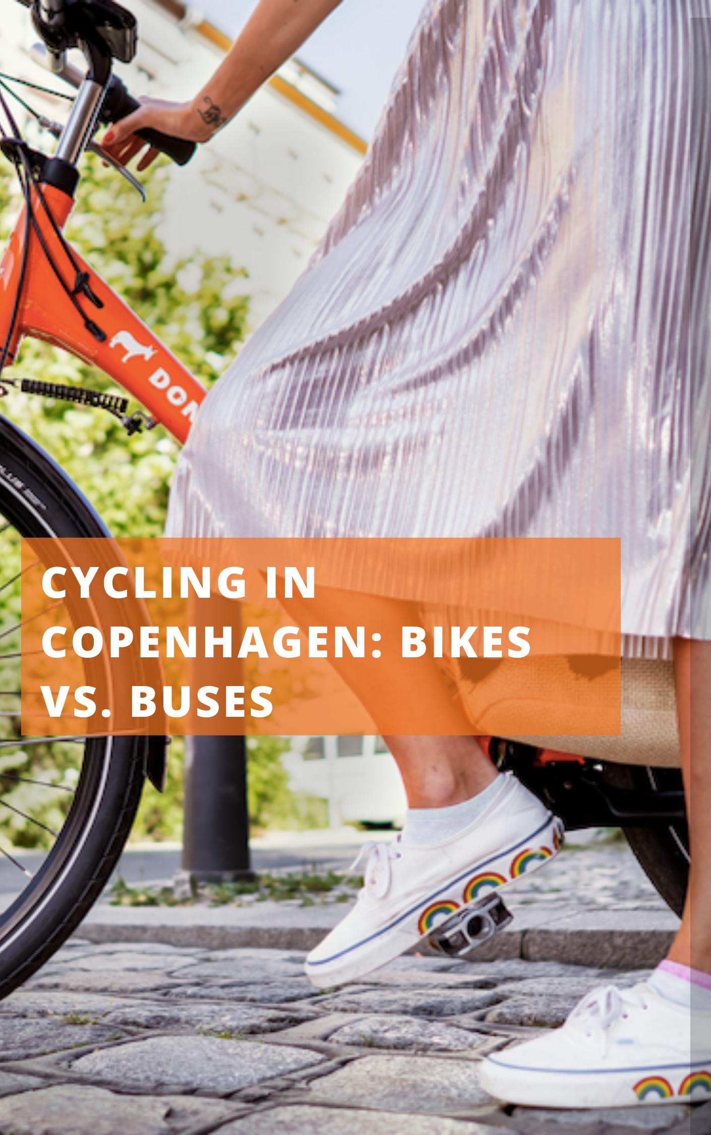 Cycling In Copenhagen Bikes Vs Buses Bike Cycling Tips